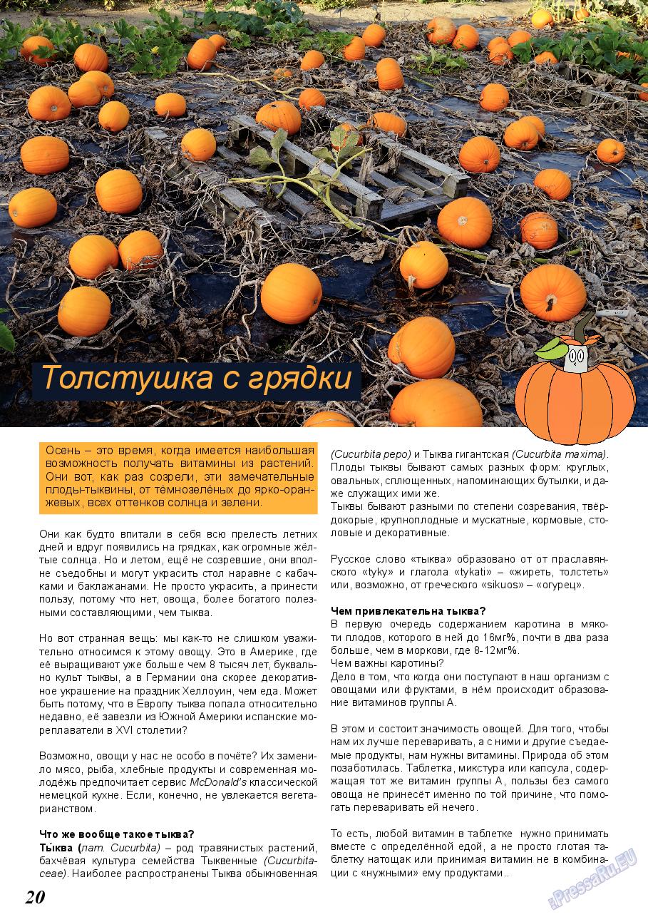 Акцент (журнал). 2019 год, номер 6, стр. 20