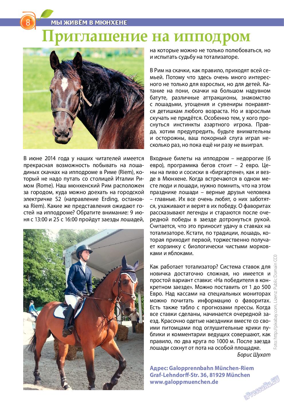 Апельсин (журнал). 2014 год, номер 59, стр. 8
