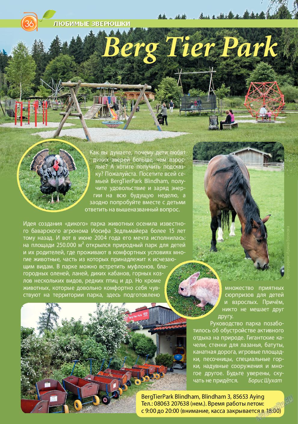 Апельсин (журнал). 2014 год, номер 61, стр. 36