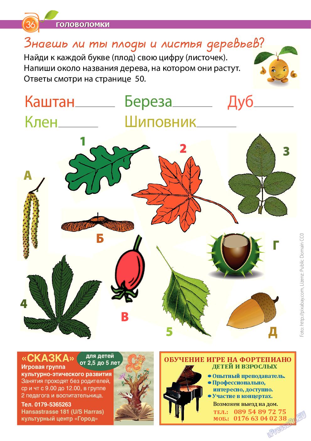Апельсин (журнал). 2014 год, номер 64, стр. 36