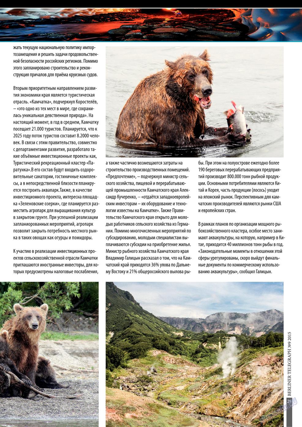 Берлинский телеграф (журнал). 2015 год, номер 9, стр. 29