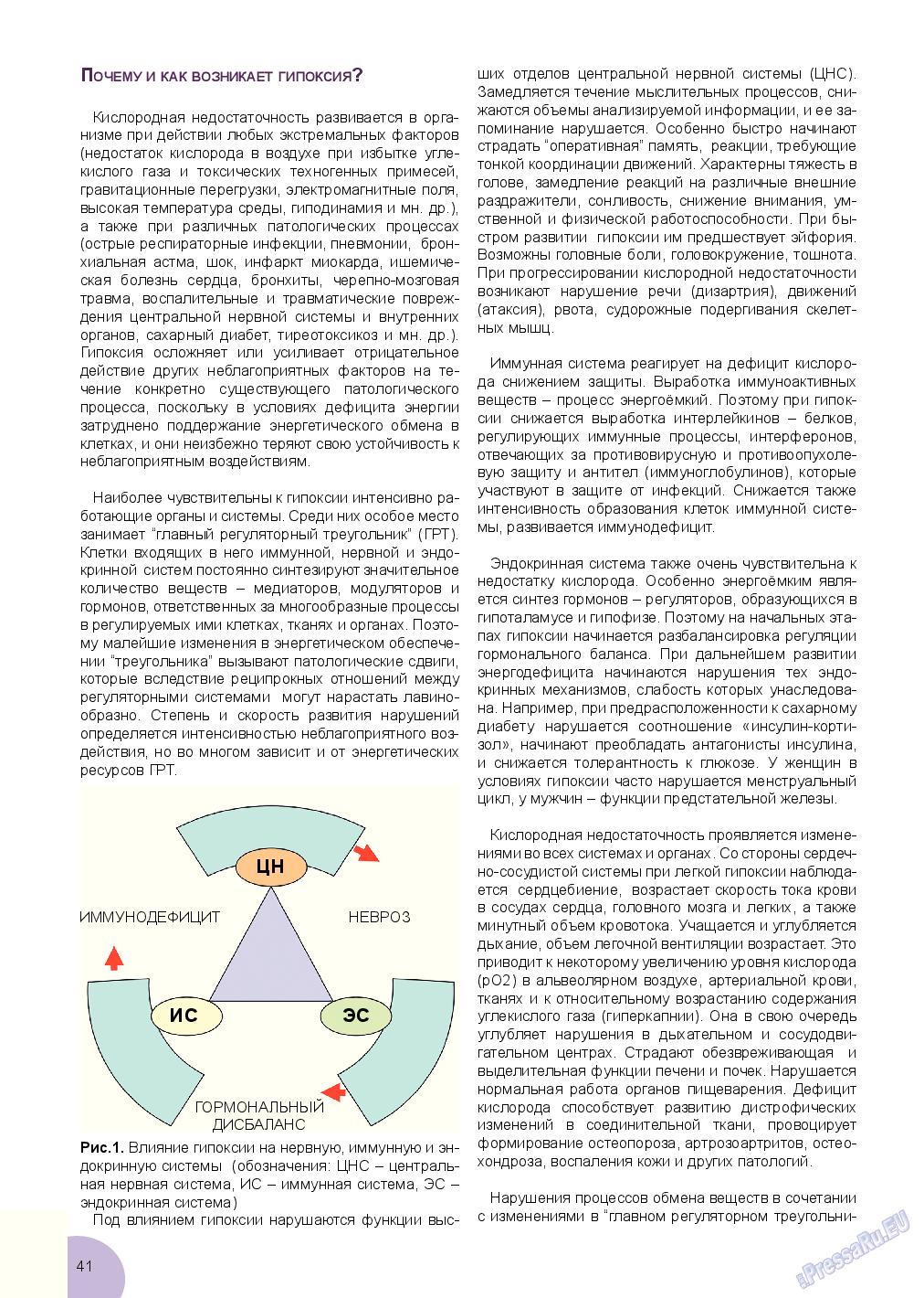 Будь здоров (журнал). 2017 год, номер 3, стр. 41