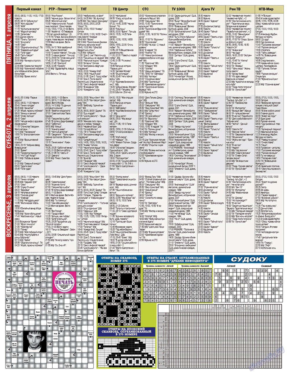 Дублин инфоцентр (газета). 2011 год, номер 12, стр. 13