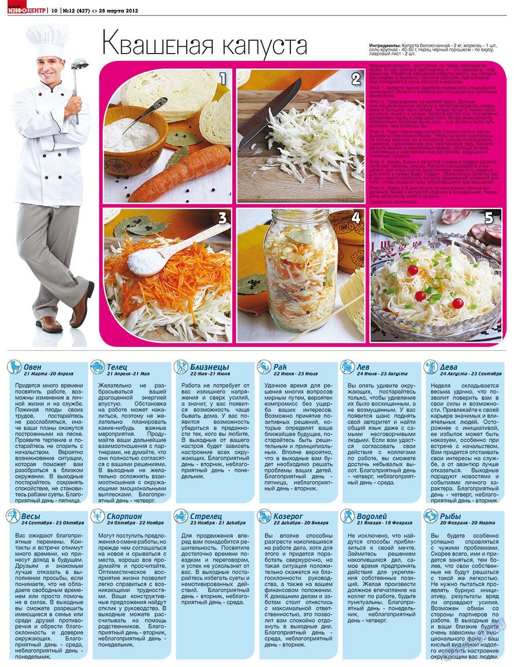 Дублин инфоцентр (газета). 2012 год, номер 12, стр. 10