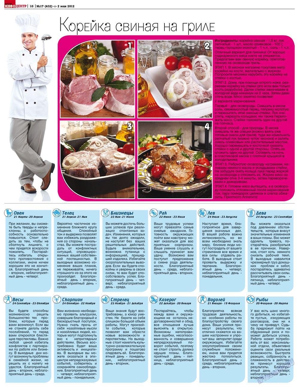 Дублин инфоцентр (газета). 2012 год, номер 17, стр. 10