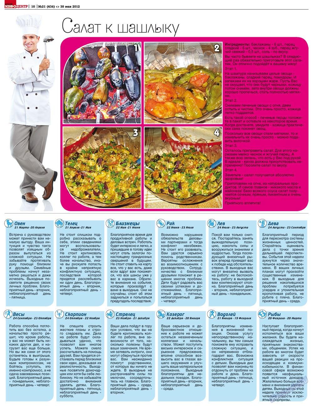 Дублин инфоцентр (газета). 2012 год, номер 21, стр. 10