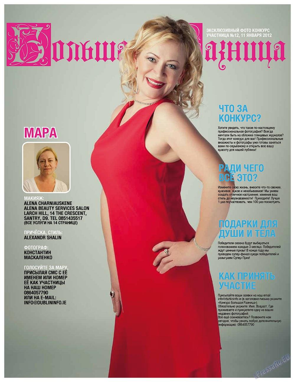 Дублин инфоцентр (газета). 2012 год, номер 3, стр. 6