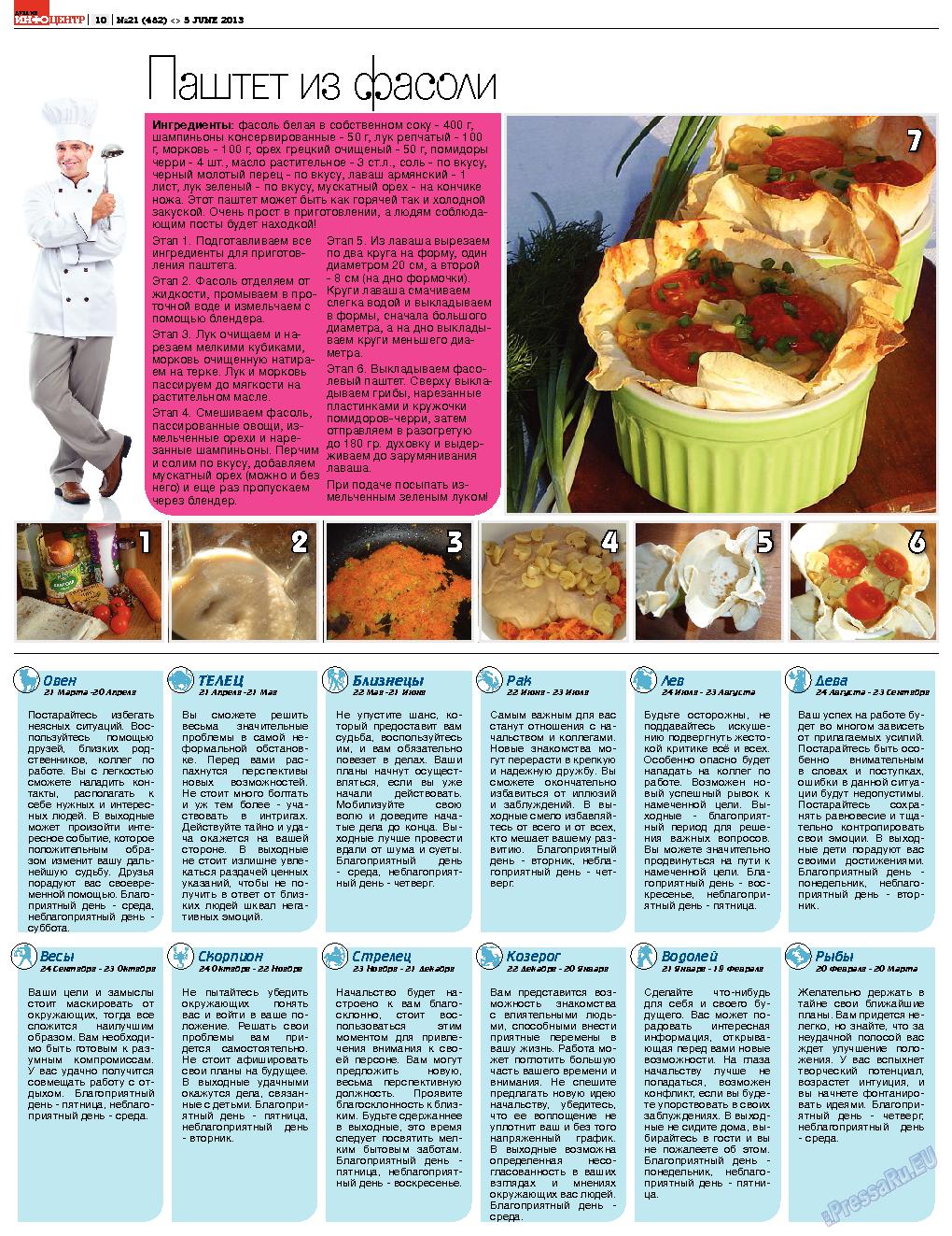 Дублин инфоцентр (газета). 2013 год, номер 21, стр. 10