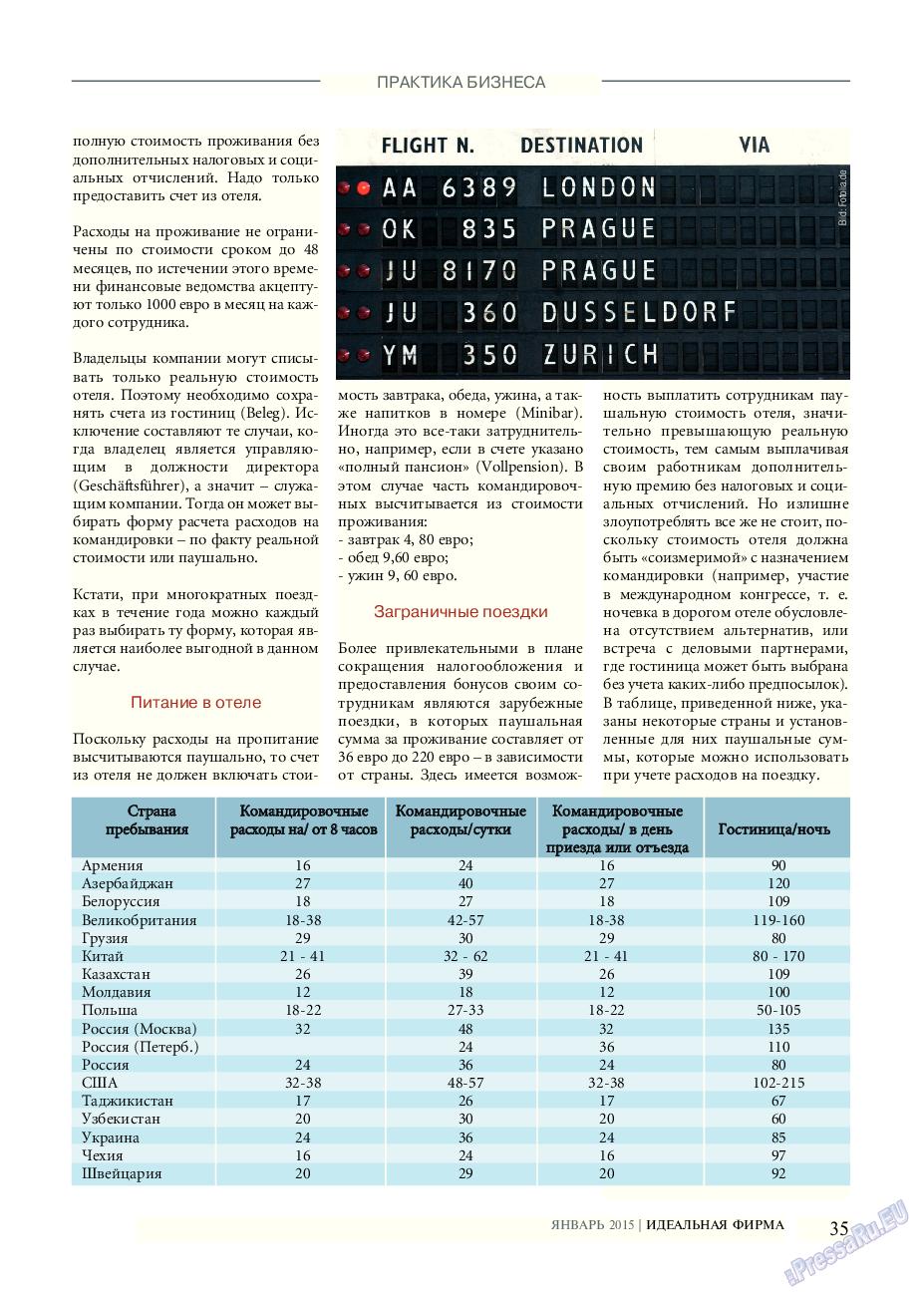 Идеальная фирма (журнал). 2015 год, номер 1, стр. 35