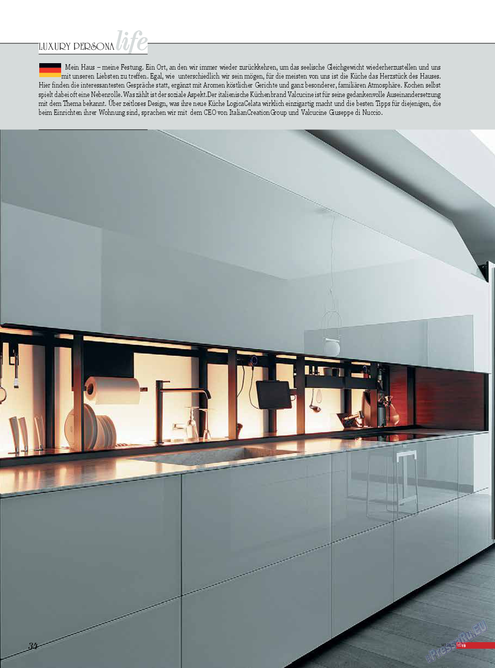 Life in Франкфурт (журнал). 2019 год, номер 44, стр. 34