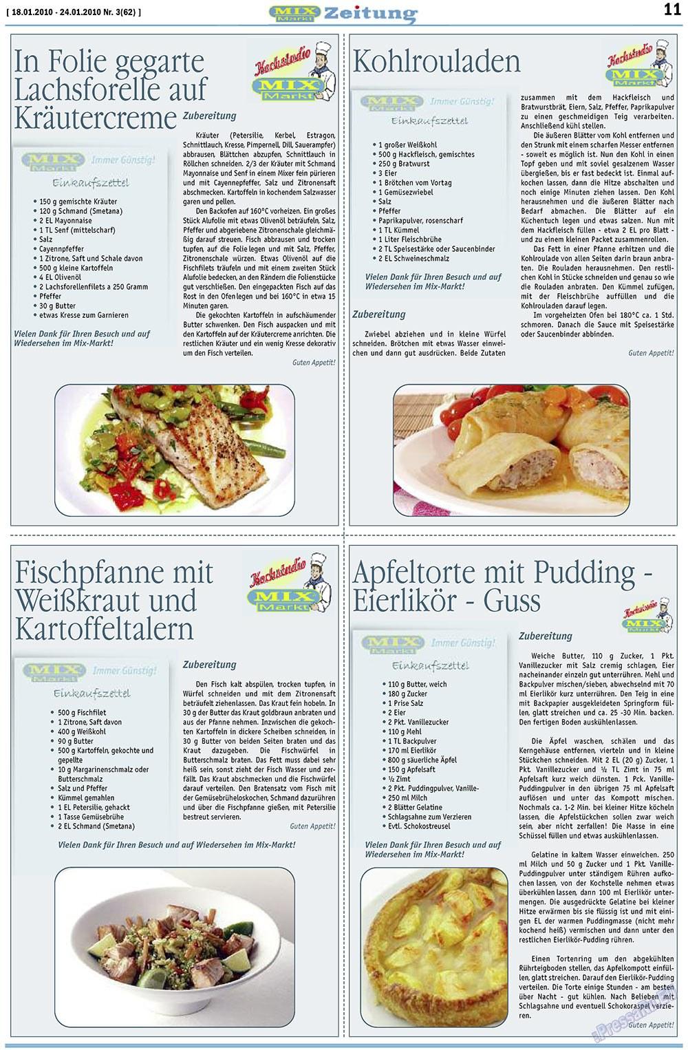 MIX-Markt Zeitung (газета). 2010 год, номер 3, стр. 11