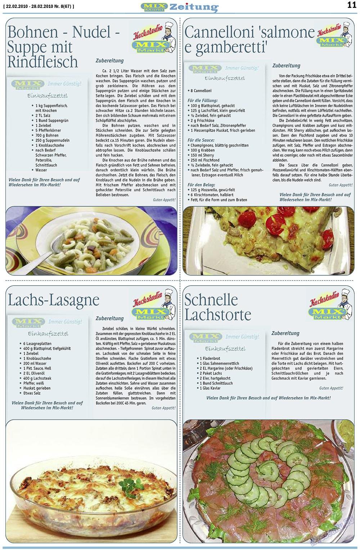 MIX-Markt Zeitung (газета). 2010 год, номер 8, стр. 11