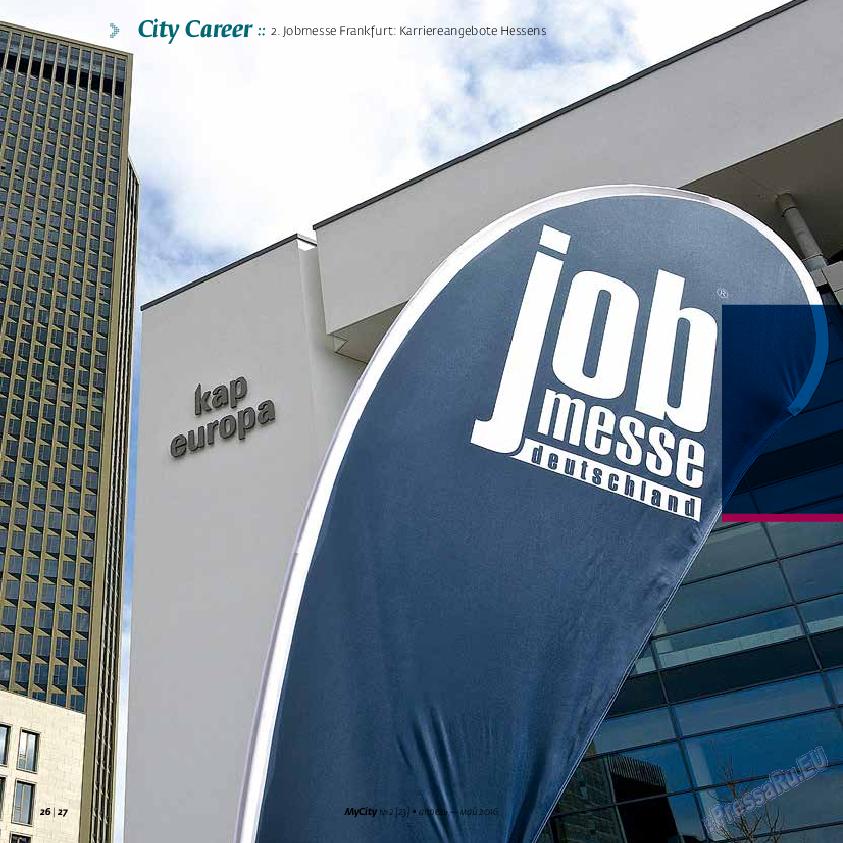 My City Frankfurt am Main (журнал). 2016 год, номер 23, стр. 26