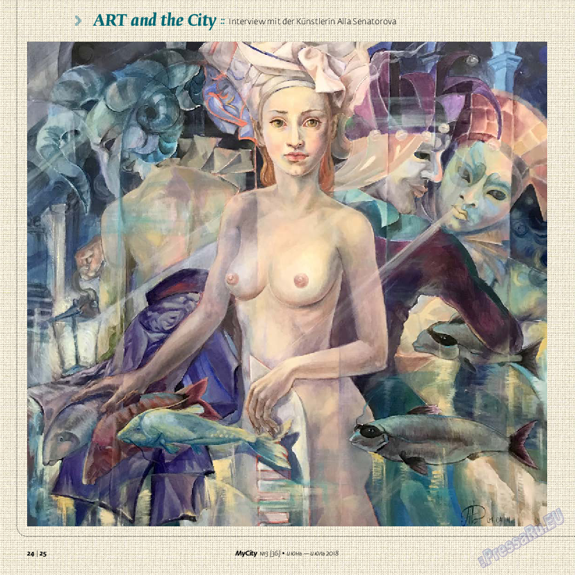 My City Frankfurt am Main (журнал). 2018 год, номер 36, стр. 24