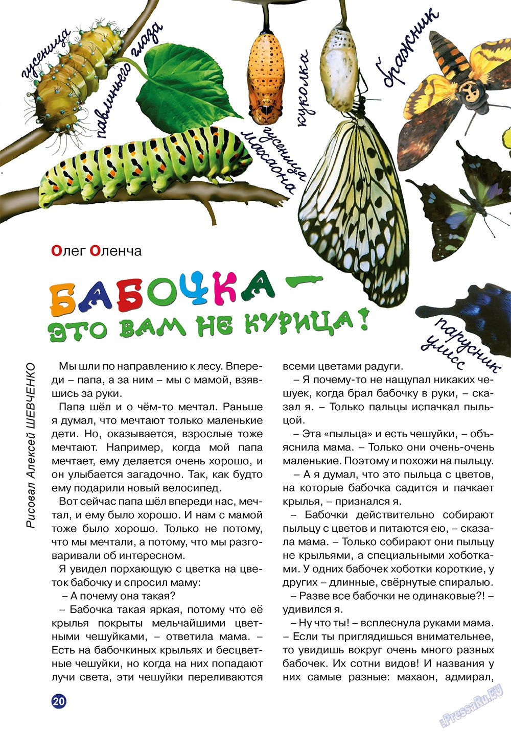 Остров там и тут (журнал). 2010 год, номер 3, стр. 20