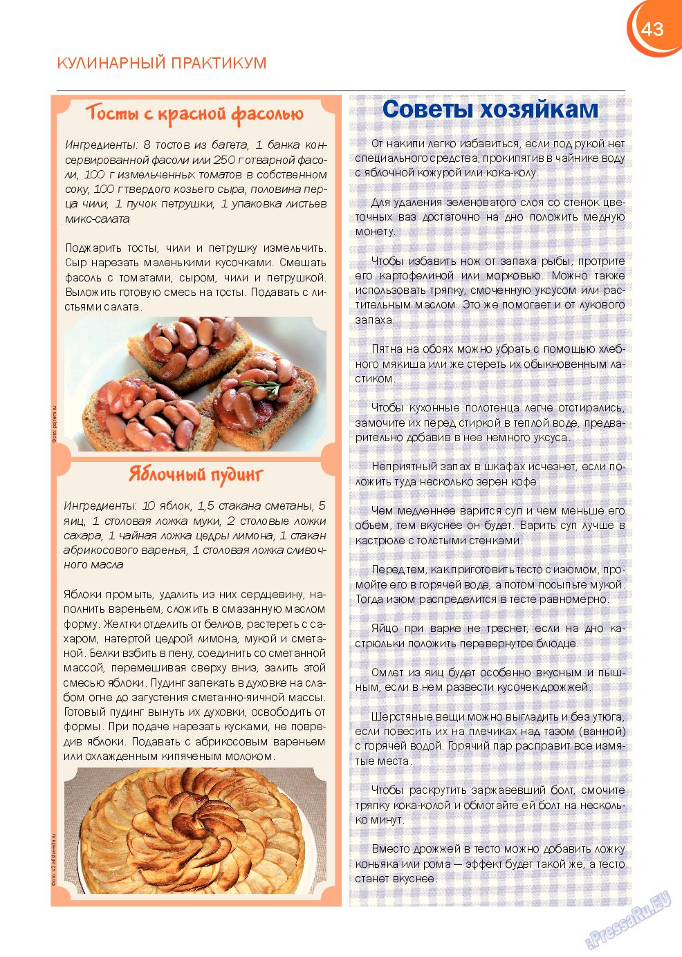 Русский Баден-Вюртемберг (журнал). 2014 год, номер 43, стр. 43