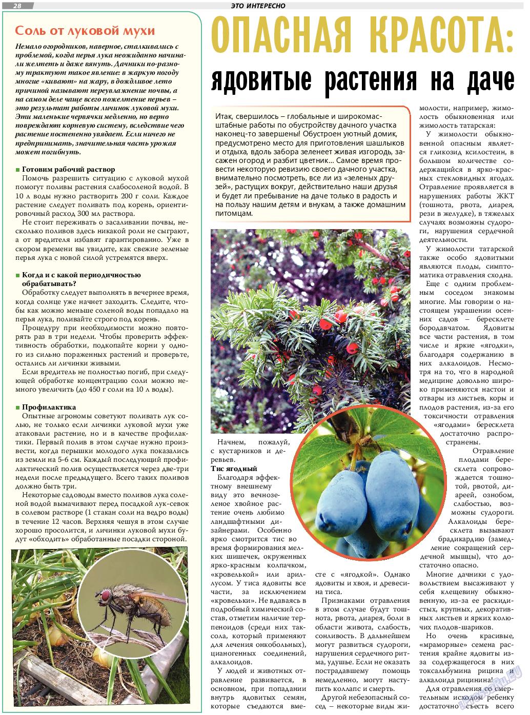 TVrus (газета). 2020 год, номер 30, стр. 28